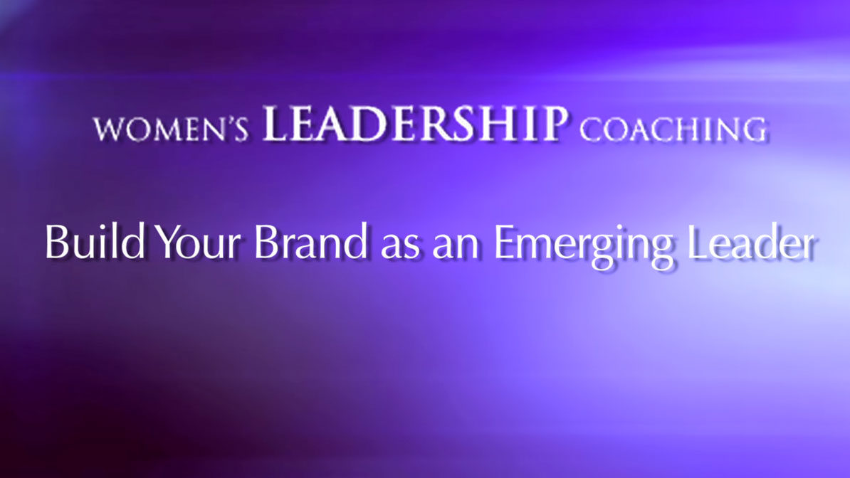 Building Your Brand as an Emerging Leader
