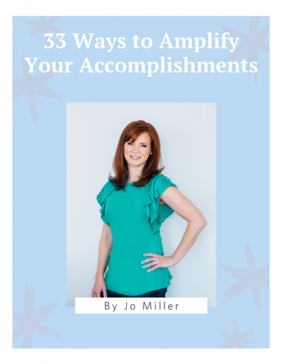 33 ways to amplify your accomplishments - header