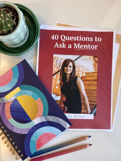 40 Questions to Ask a Mentor